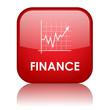 """FINANCE"" Web Button (business commerce money banking markets)"