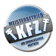 KFZ Meisterbetrieb! Button, Icon