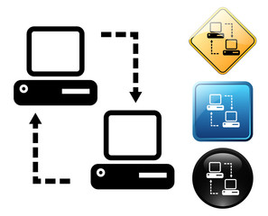 Remote support pictogram and signs