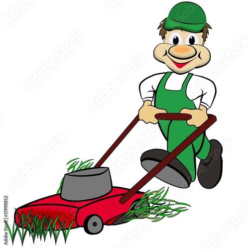 der Rasenmäher