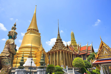 Wat Phrakeaw, Grand Palace Area, Bangkok