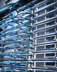 cable and servers