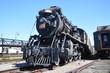 Steam locomotive in Steamtown NHS in Pennsylvania, USA