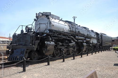 Steam locomotive Union Pacific 4012 in Pennsylvania, USA
