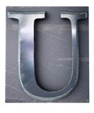 Typescript upper case U   letter poster