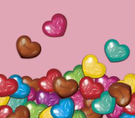 チョコいっぱい つもる