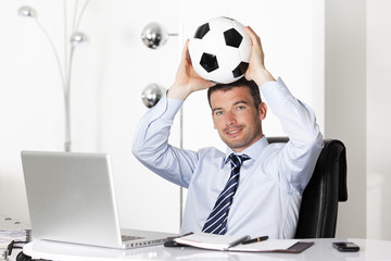 ball in office