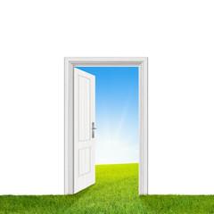 Tür zur Natur