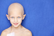 cancer child portrait