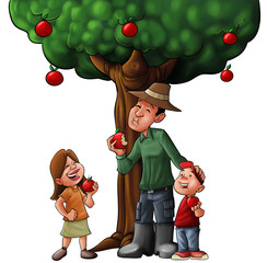 family tree and food