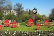 Central Park Clock in Bucharest