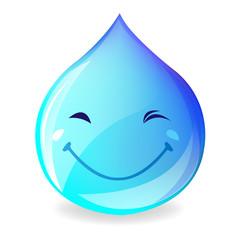 Smiling Drop Of Water
