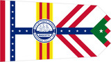 Tampa city flag poster