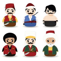 traditional turkish men