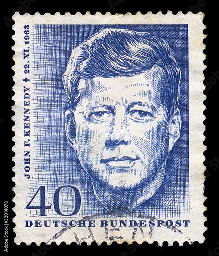 jfk postage stamp