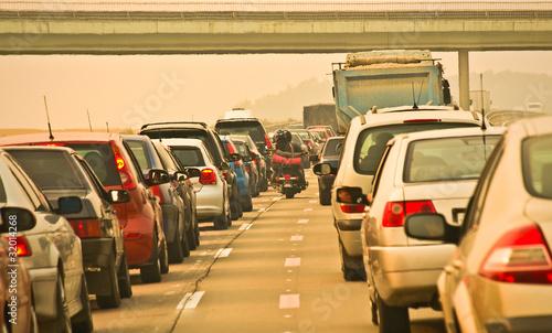 suburban traffic