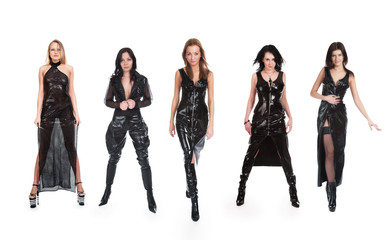 Five beautiful girls