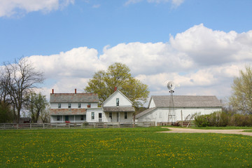 Amish Farm house