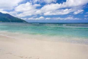 Beau Vallon plage des Seychelles