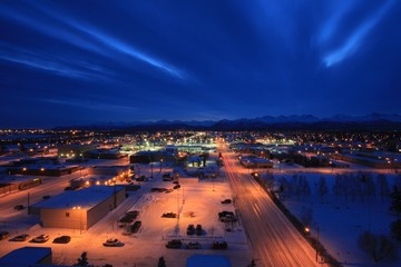 Dawn in Anchorage