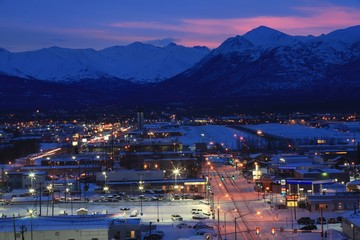 Anchorage at Dawn