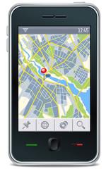 gps navigator interface
