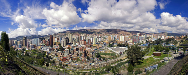 Panoramica de La Paz