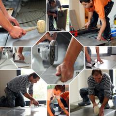 Tiler work