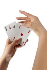 mani con carte