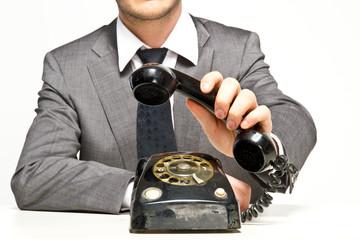 telefonhörer abheben