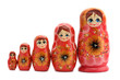 Red matrioshka