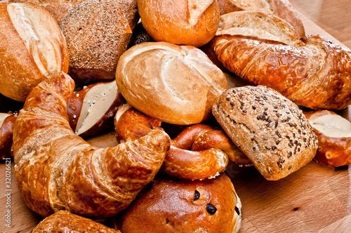 Fotobehang Brood Brötchen
