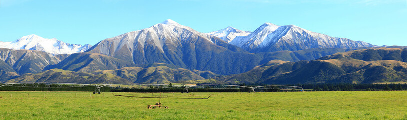 southern alps panorama