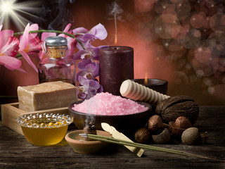 spa- aromatherapy concept