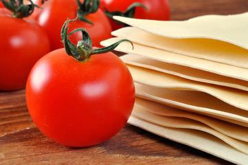 Lasagne, italian pasta