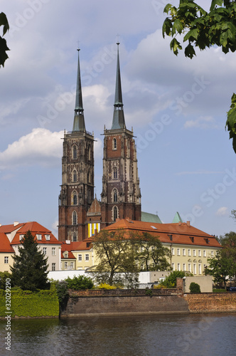 Widok na wrocławską archikatedrę © Grzegorz Polak