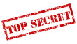 Top secret - rubber stamp vector