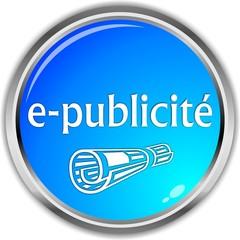 bouton e-publicité