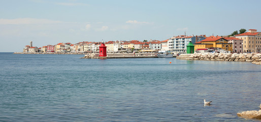 Little town by the sea, Piran, Slovenia