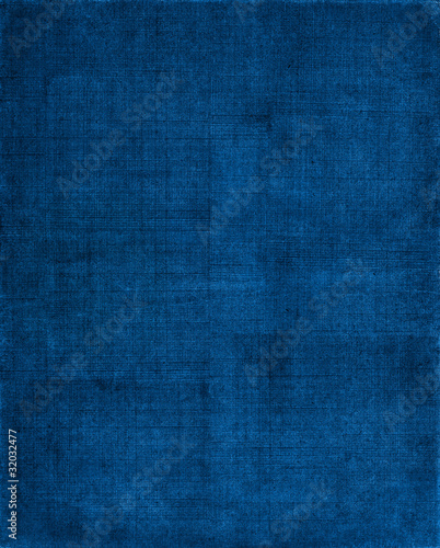 Fotobehang Stof Blue Cloth Background