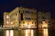 Palazzo Franchetti Cavallo bei Nacht