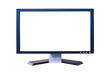 wide screen LCD monitor with blank screen