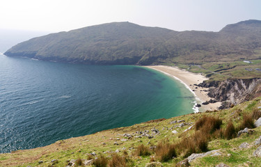 Idyllic Keem Beach on Achill Island, Co. Mayo - Irleland