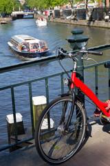 Biciletta in Amsterdam