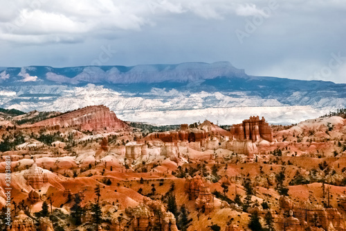 Papiers peints Orange eclat View from viewpoint of Bryce Canyon. Utah. USA