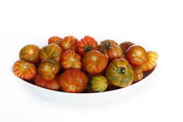 Bandeja con tomates