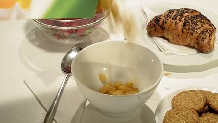 corn flakes a colazione