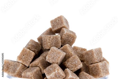 Brauner Zucker.