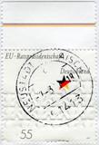 Postage stamp Germany 2007: EU presidency poster