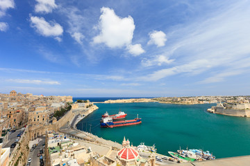 Valletta harbor